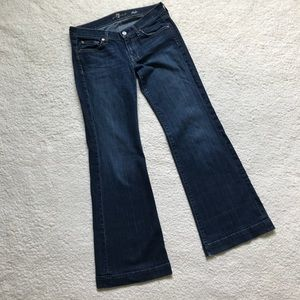 7 For All Mankind Dojo Jeans Wide Leg